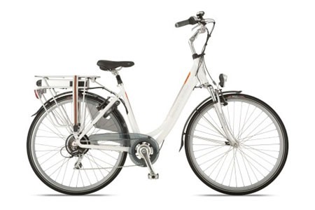 witte gazelle fiets